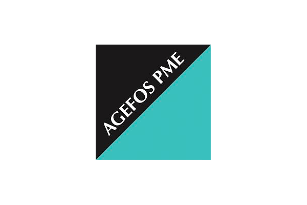 logo agefos pme qui finance les formations d'Ongles Galerie