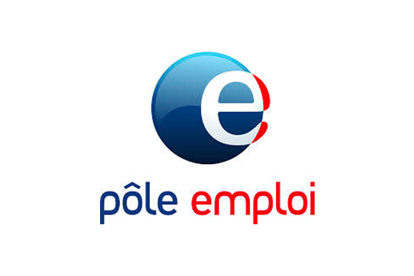 Logo de Pole emploi qui finance les formations d'Ongles Galerie