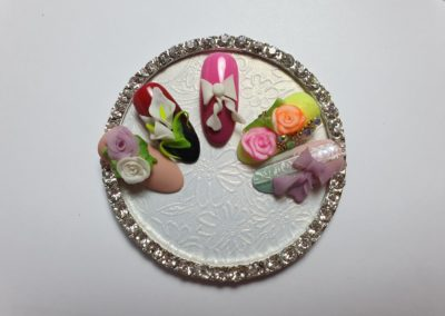 Formation Nail Art RESINE 4D 180€ 1 jour