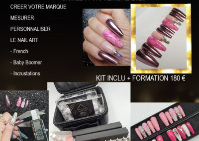 FORMATION PRESS ON NAILS «CREER VOTRE MARQUE»